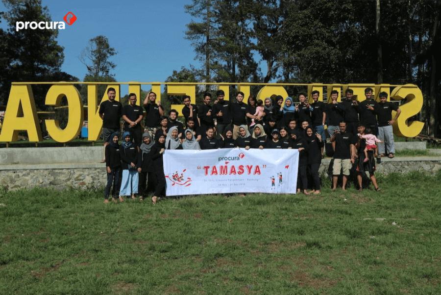 ProcurA Tamasya Refreshing ke Situ Cileunca, Jawa Barat