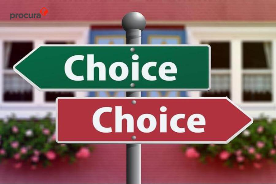 memilih software procurement