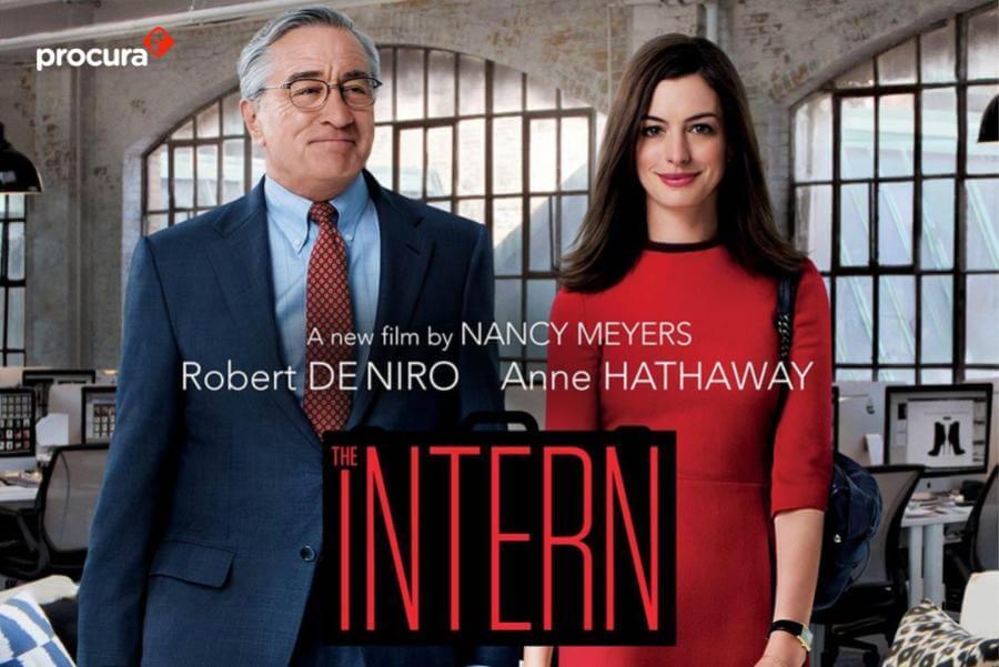 film hari buruh the intern